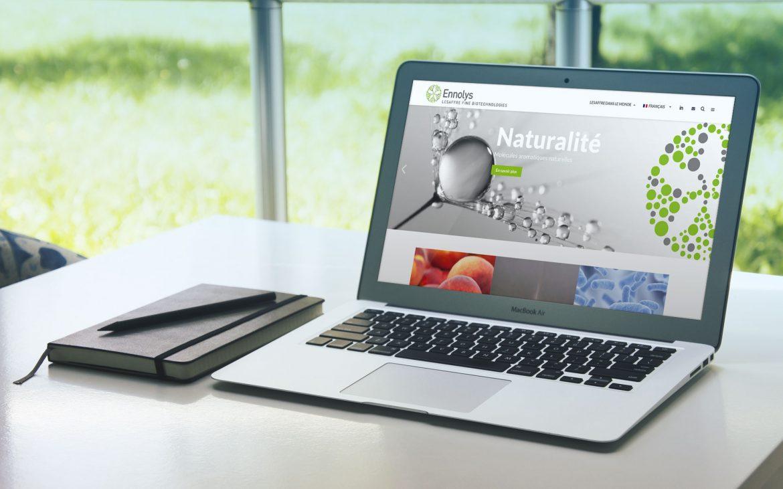Site Internet Ennolys Groupe Lesaffre